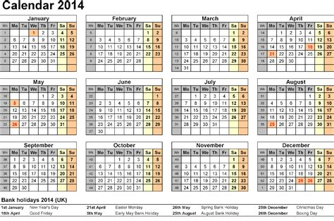 free template for calendar 2014 free calendar templates 2014 to print