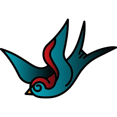 tattoo old school png bird free animals icons
