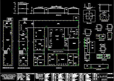 food processing factory dwg block  autocad designs cad
