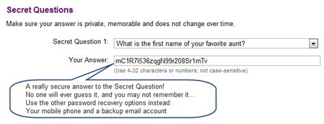 secret questions secure your email with better password recovery