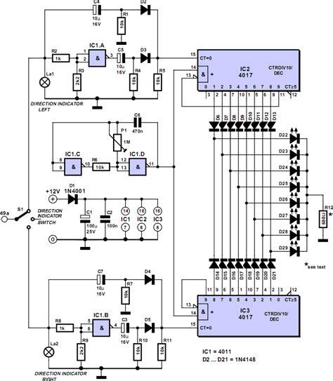led blinker circuit diagram blinker indicator xtreme circuits