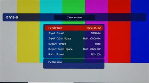 hcfr pattern generator dvdo avlab ultra hd 4k test pattern generator review hd guru