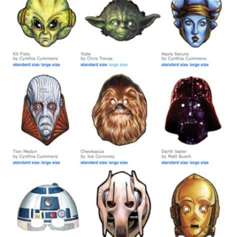 printable mask star wars free printable star wars masks kids crafts pinterest