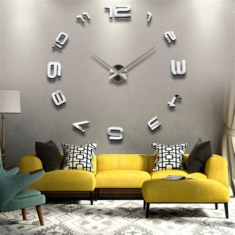 home decor for sale online clocks large wall clock decor oversized rustic wall