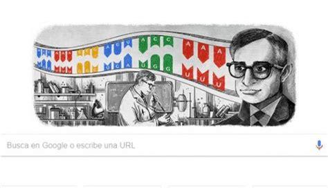 doodle de hoy 22 de enero buscador rinde tributo a har gobind khorana nobel