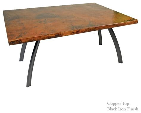 copper dining room tables 28 images copper dining room chanal dining table with soft oval 44 quot x72 quot copper top