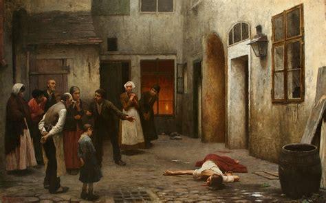 By The House Jakub Schikaneder Murder In | file jakub schikaneder murder in the house jpg