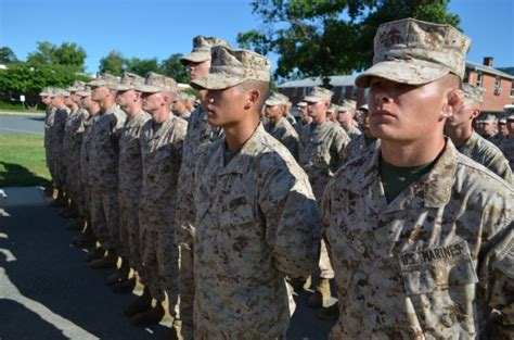 Officer School by Be Prepared For The Quot Moment Of Quot At Ocs Usmc Officer