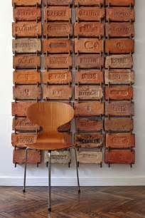 art wall decor vintage antique bricks used as wall art very cool idea more