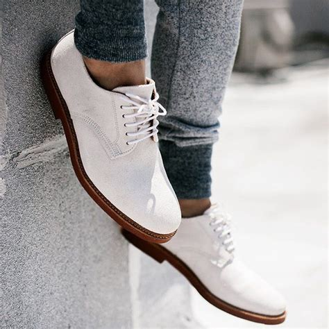 white oxfords shoes abram white suede oxfords by walk groomsmen shoes