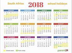 Printable: 2018 SA school holiday calendar | Parent24 2016 Calendar With Julian Date Calculator