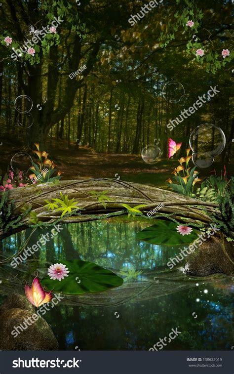 the secret pond enchanted nature series the secret pond stock photo