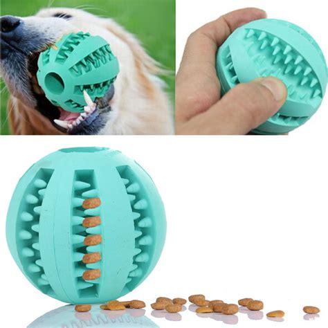 Sarung Tangan Pijat Grooming Anjing Blue bola karet mainan anjing feeding green jakartanotebook