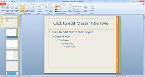 master template powerpoint 2010 how to create a powerpoint