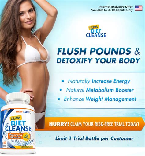 Detox Diet Free Trial by Ultra Diet Cleanse Trial