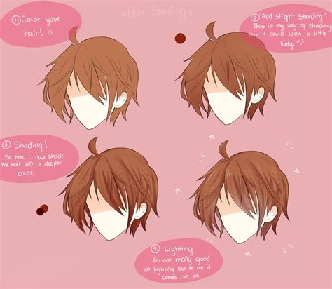 how to shade hair shading the hair by shweezyliz on deviantart