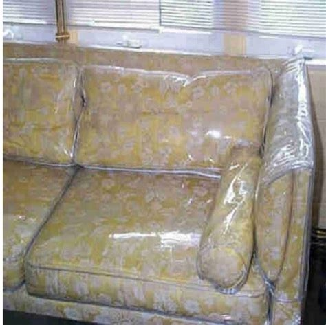 plastic sofa covers uk protective sofa covers deluxe armless furniture cover for