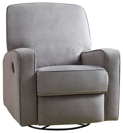 grey rocking recliner pri sutton swivel glider recliner stella zen grey