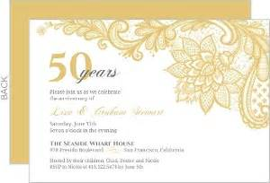 50th anniversary invitations amp anniversary invites