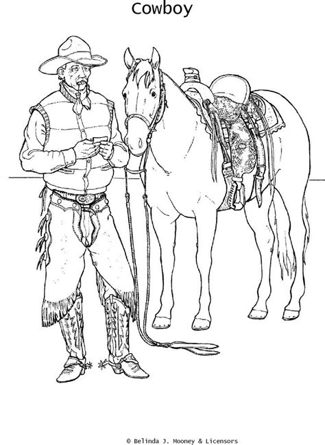 coloring pages of cowboys and horses 28 best images about icolor quot the old west quot on pinterest