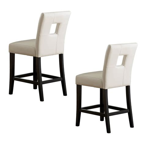 homelegance   archstone counter height dining chair set   atg stores