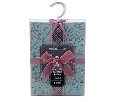 keep your closet smelling fresh hanging scented sachet