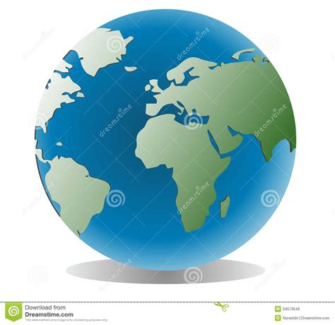 earth global map globe royalty free stock images image 34573649