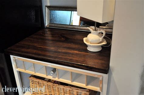 Diy Wood Bathroom Countertop by Diy Wood Countertop