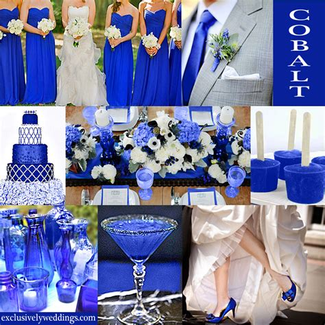 blue wedding color five perfect combinations