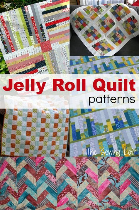 Jelly Roll Patchwork Quilt Patterns - jelly roll quilt ideas the sewing loft