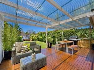 Clear Roofing For Pergola by Using Clear Laserlight Roofing Over The Pergola Deck Lets