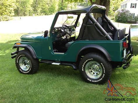 jeep cj5 laredo 1981 jeep cj5 laredo 325 hp