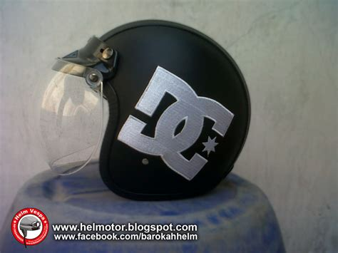 Helm Japstyle helm bogo dc bordir helm vespa