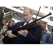 Putin Vladimir Gun In Hand Russian Leader Sheds