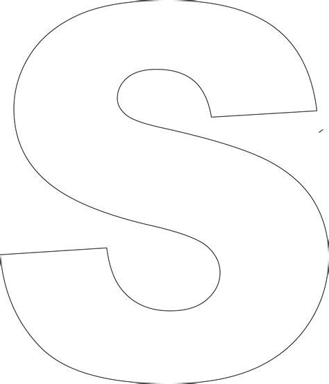 printable upper case alphabet template letter