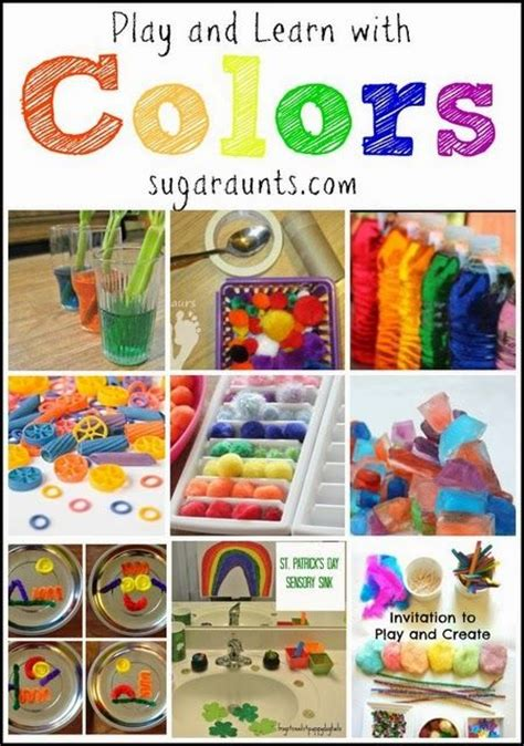 colour themes for preschoolers 17 best images about teaching colors in preschool and