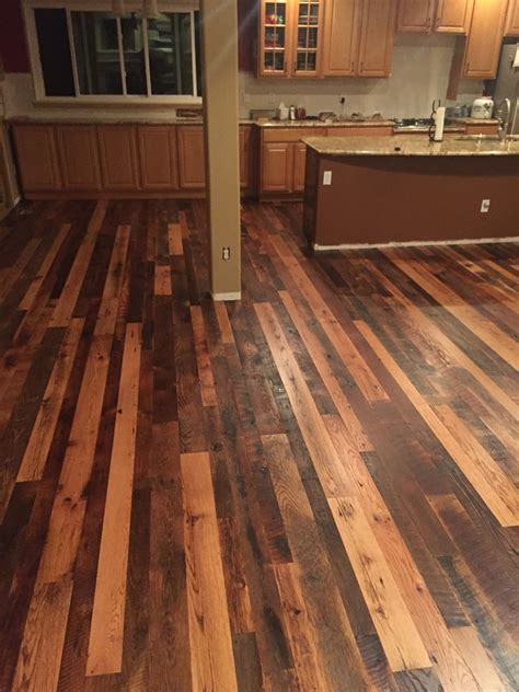 mixing colors of laminate flooring