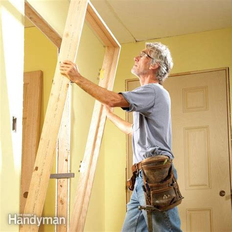 How To Hang A Closet Door Tips For Hanging Doors The Family Handyman