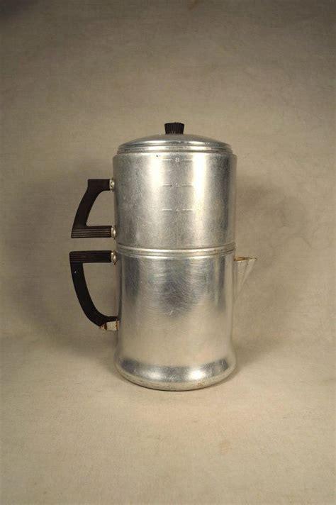 Classic Coffee Drip vintage 8 cup wear drip coffee pot aluminum pots