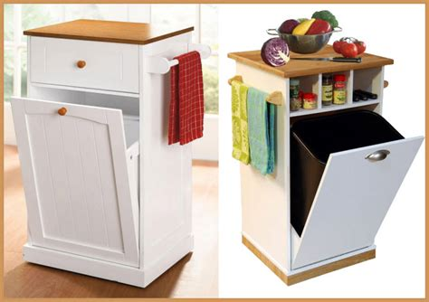 Brylanehome Country Kitchen Trash Bin by Small Trash Can Island Findabuy