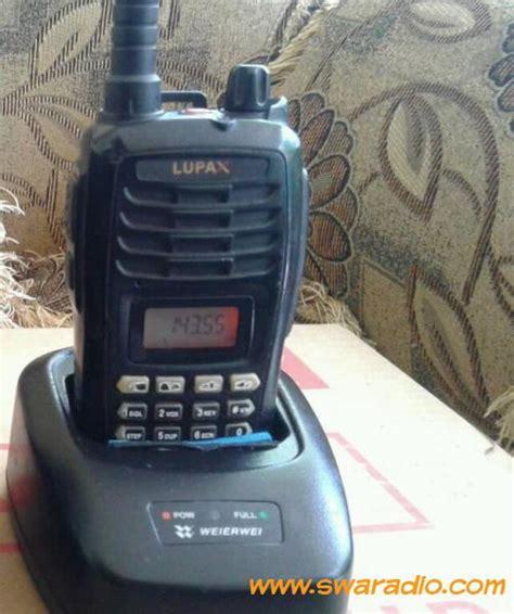 Ht Murah Lupax T 550 Vhf dijual ht lupax t 550 vhf rx tx normal 5watt batre lithium