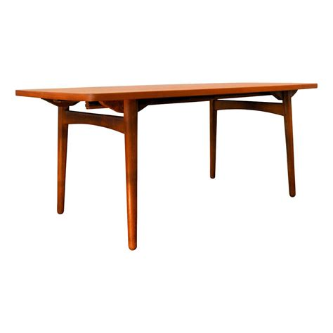 Mid Century Teak Extendable Dining Table By Chr L Larsen