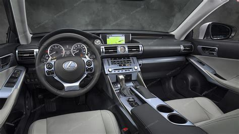 Interior Dash Kits by Lexus Is 2014 Up Interior Dash Kit Optional Overhead Console 5 Pcs