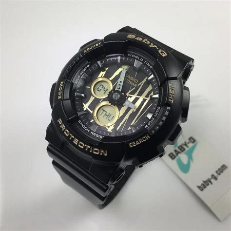 Casio Baby G Ba 120 Sp 1 casio baby g black analog digital ba120sp 1a