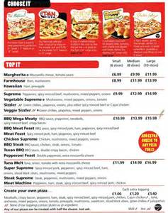 Hut Prices Pizza Hut Delivery Menu Menu For Pizza Hut Delivery
