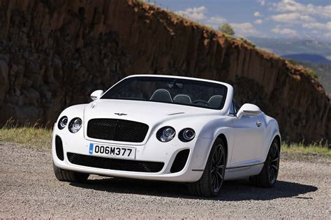 bentley sport convertible photos bentley continental supersports convertible