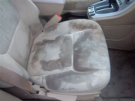 how to clean car upholstery stains seat stain removal round rock detailing round rock