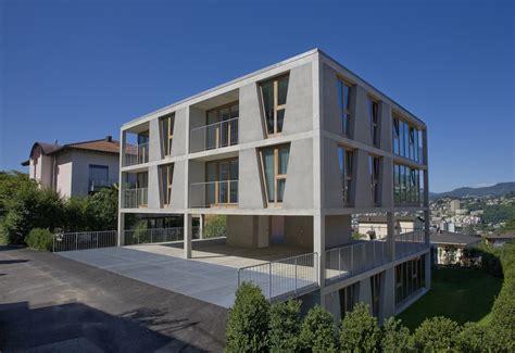apartment design archdaily apartment house in pregassona architetti pedrozzi diaz