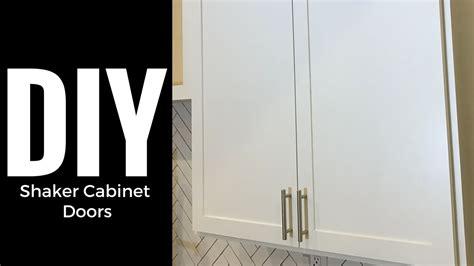 diy shaker cabinet doors diy shaker cabinet doors part 2 rails and stiles