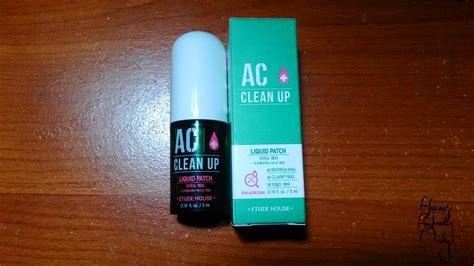 Etude Ac Clean Up Spot Patch 16 Patch 소울 메이트 soulmate review etude house ac clean up